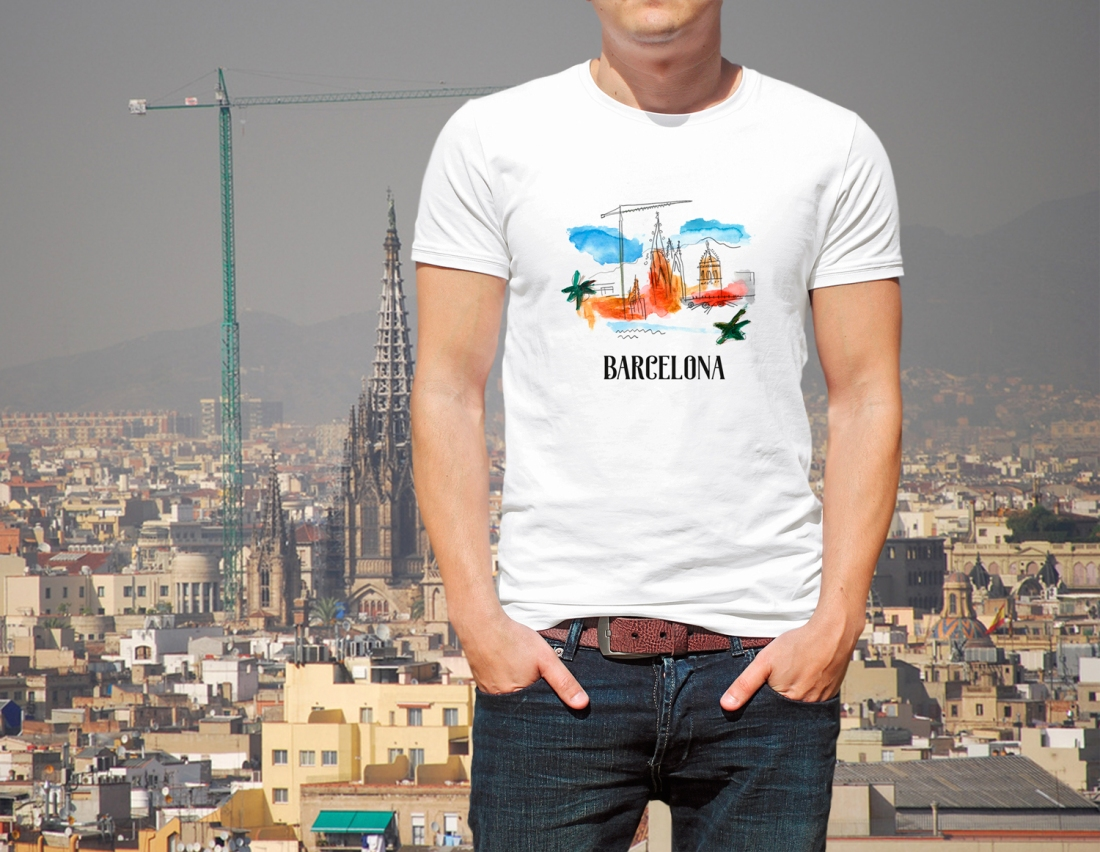 T-Shirt-Bcn
